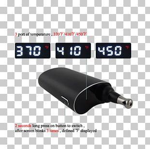 Vaporizer Electronic Cigarette Tobacco Smoking Cannabis PNG