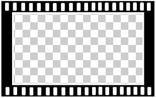 Hollywood Filmstrip Film Frame PNG