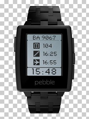 Pebble Time Smartwatch Pebble STEEL PNG