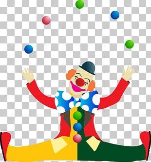 Performance Clown Circus PNG