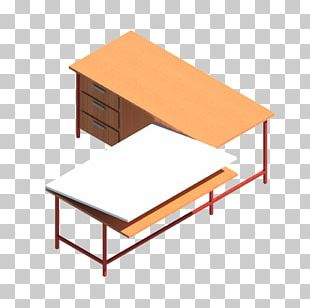Table Desk Drawing Board Technical Drawing PNG