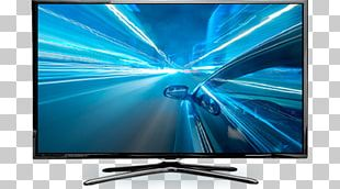 LED-backlit LCD Television Set High-definition Television PNG