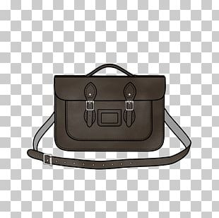 Satchel Handbag Leather Briefcase Strap PNG