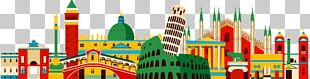 Flag Of Italy Illustration PNG