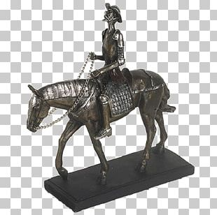 Horse Bronze Sculpture Knight PNG