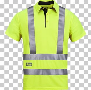 T-shirt High-visibility Clothing Polo Shirt Workwear PNG