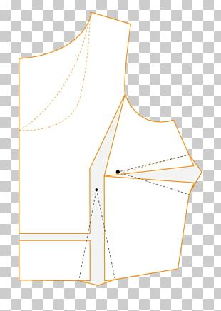Paper Neck Line Pattern PNG