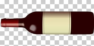 Red Wine Beer Bottle Wine Glass PNG