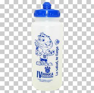 Water Bottles Plastic Bottle Cobalt Blue PNG