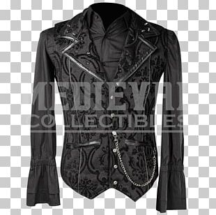 Leather Jacket Artificial Leather Clothing Shirt PNG
