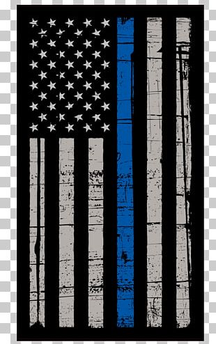Flag Of The United States Police Thin Blue Line Peace Officers Memorial Day PNG
