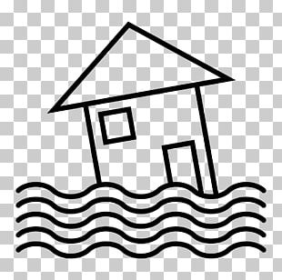 Flood Black And White Natural Disaster Business Continuity Planning PNG