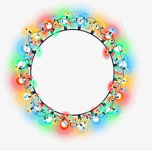 Neon Circle Back PNG