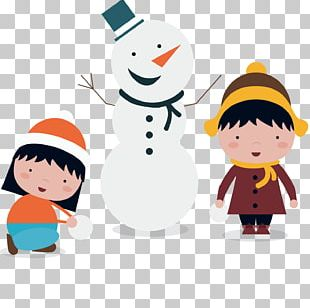 Cartoon Animation Snowman Illustration PNG