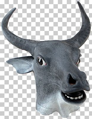 Mask Cattle Disguise Costume Cow PNG
