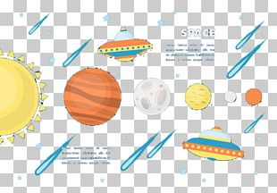 Outer Space Graphic Design PNG