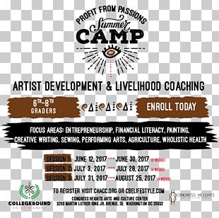 Logo Brand Font Summer Camp Washington PNG