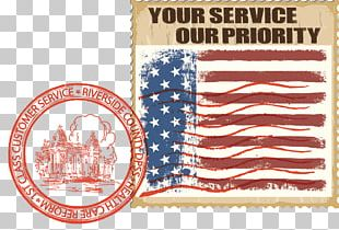 Postage Stamps Riverside County Department Of Public Social Services County Of Riverside In-Home Supportive Services Flag Of The United States PNG