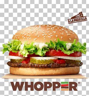 Whopper Burger King Hamburger Chicken Sandwich PNG