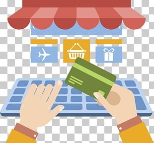 Digital Marketing E-commerce Business Online Shopping Trade PNG
