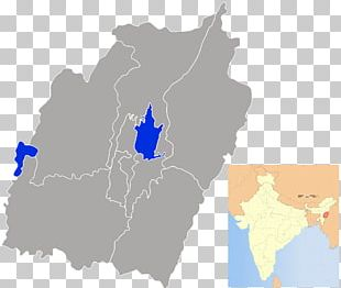 Manipur States And Territories Of India Map PNG