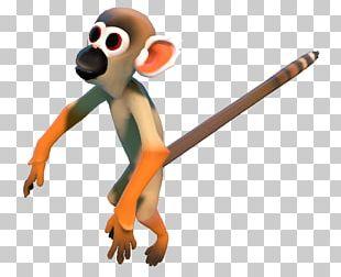 Monkey Primate Animal Figurine Technology PNG