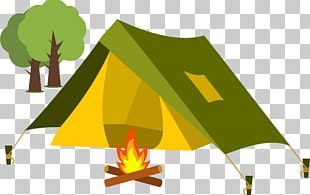 Tent Cartoon Camping PNG