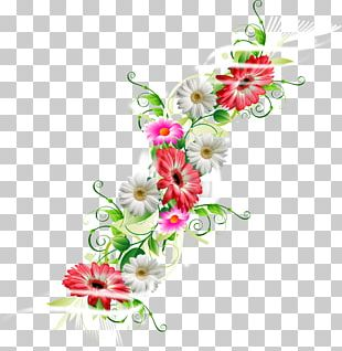 Cut Flowers Floral Design Ornament Art PNG