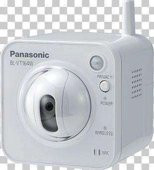 IP Camera Panasonic BL-VT164WE Closed-circuit Television Pan–tilt–zoom Camera PNG