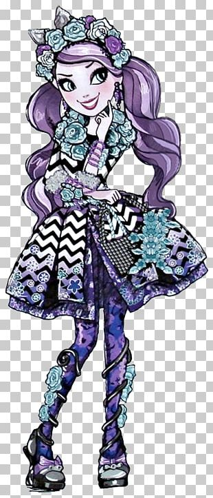 Ever After High Cheshire Cat Queen Of Hearts Doll PNG