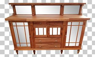 Table Mission Style Furniture Buffets & Sideboards 1920s PNG