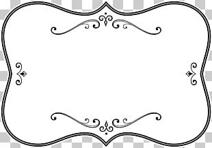 Borders And Frames Frames Black And White PNG