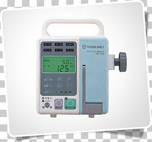 Infusion Pump Terumo Corporation Intravenous Therapy Syringe Medical Equipment PNG