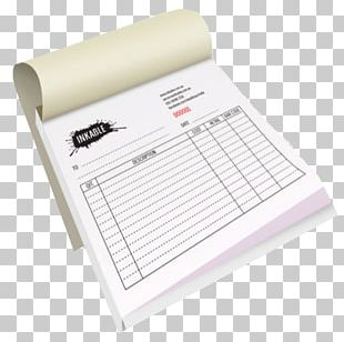 Paper Printing Voucher Invoice Service PNG