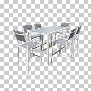 Table Mimosa Chair Garden Furniture Room PNG