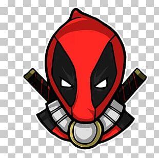 Deadpool Sticker Telegram VKontakte Character PNG