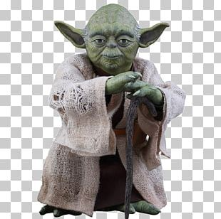 Yoda Luke Skywalker Action & Toy Figures Hot Toys Limited Jedi PNG