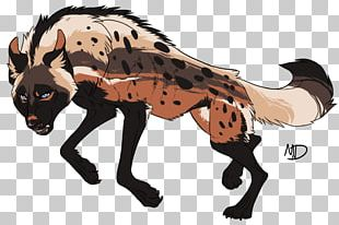 Striped Hyena Wildlife Drawing Spotted Hyena PNG