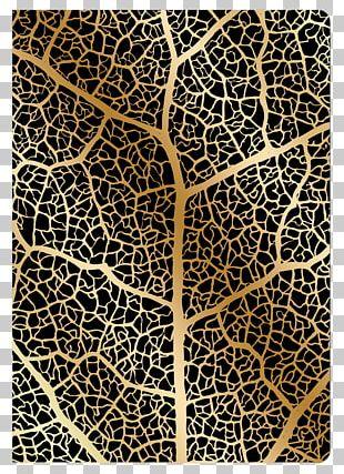 Gold Leaf 60863-030 60863-027 Branch PNG