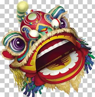 Lion Dance Dragon Dance Chinese New Year PNG