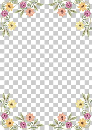 Wildflower Floral Design PNG
