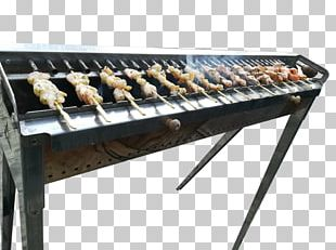Churrasco Barbecue Outdoor Grill Rack & Topper Skewer Table PNG