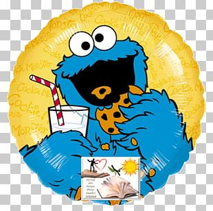 Cookie Monster Chocolate Chip Cookie Milk Biscuits PNG