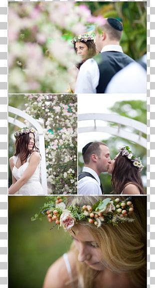 Floral Design Wedding Flower Bouquet Crown PNG
