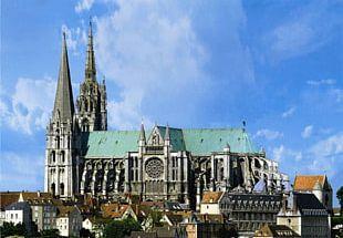 Chartres Cathedral Notre-Dame De Paris Gothic Architecture PNG