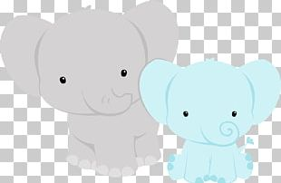 Elephantidae Baby Shower Infant PNG