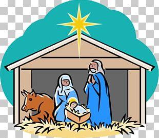 Nativity Scene Nativity Of Jesus Holy Family PNG