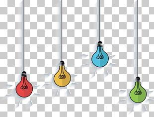 Light Bulb Ornaments PNG