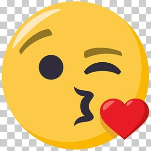 Emoji Air Kiss Sticker Emoticon PNG
