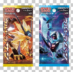 Pokémon Ultra Sun And Ultra Moon Pokémon Sun And Moon Booster Pack Pokémon Trading Card Game PNG